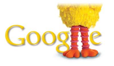 Big Bird Google Logo