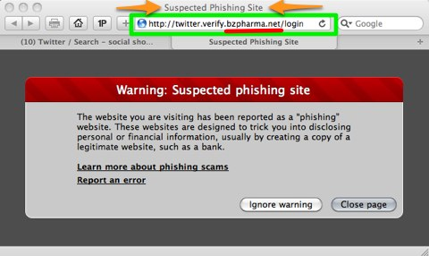 bzpharma.net phishing direct message scam on twitter