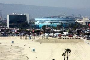 Long Beach Aquarium & Hyatt Hotel