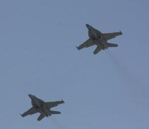 T-38 Jets Flyover Long Beach Grand Prix