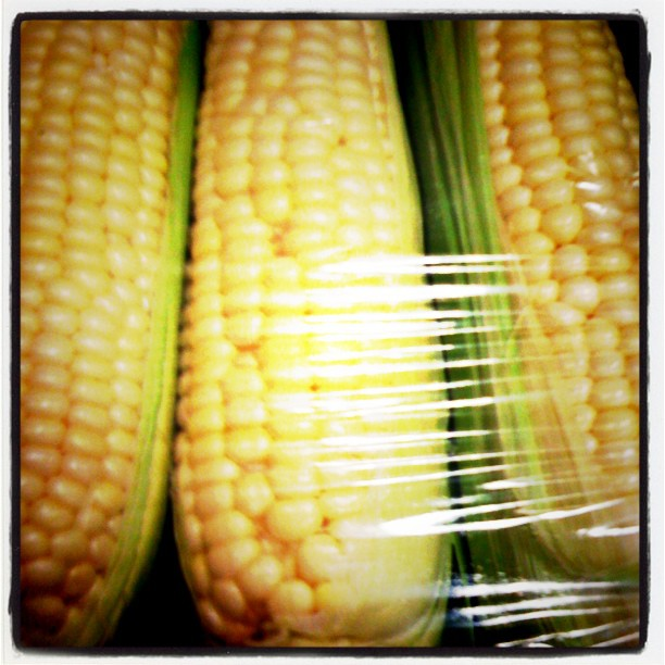 Packaged Wrapped Corn