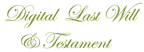 Digital-Last-Will-Testament