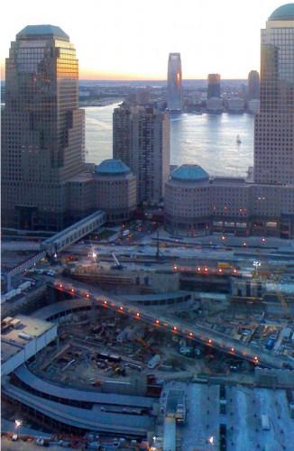 World Trade Center Construction Site New York, 2008